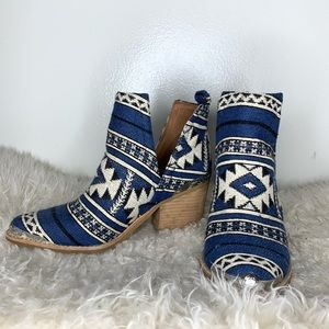 Jeffrey Campbell tribal booties